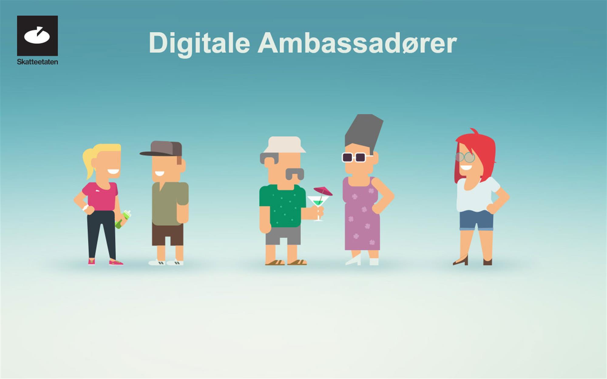 Apropos Digital Læring Digitale ambassadører 1