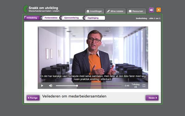 Digital Læring Apropos - Medarbeidersamtalen 1