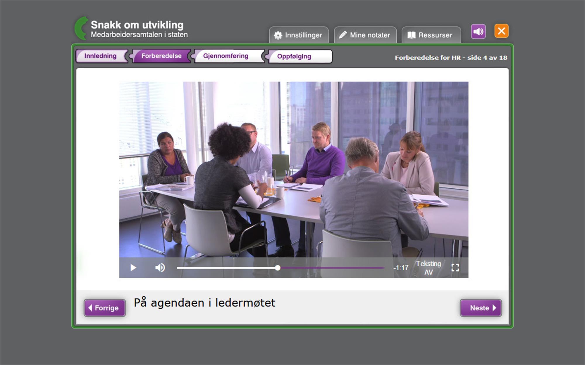 Digital Læring Apropos - Medarbeidersamtalen 3